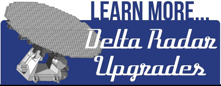 delta radar upgrades
