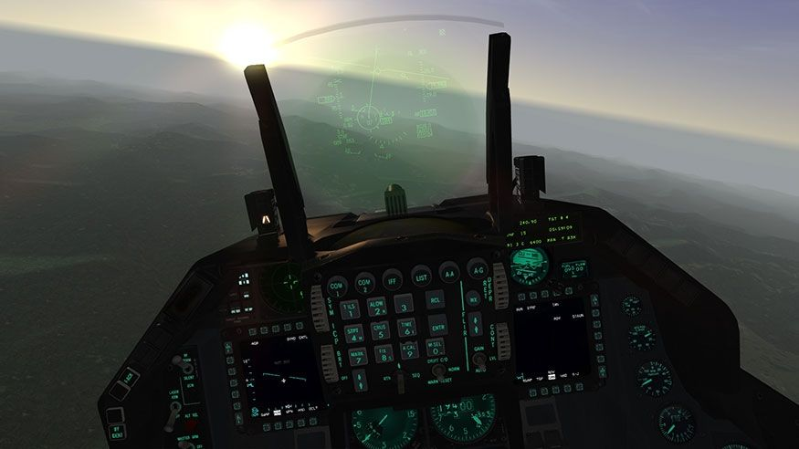 10 Types of Data Displayed on the F-16 HUD