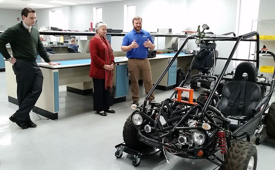 NC Secretary of Commerce Sharon Decker Visits Duotech