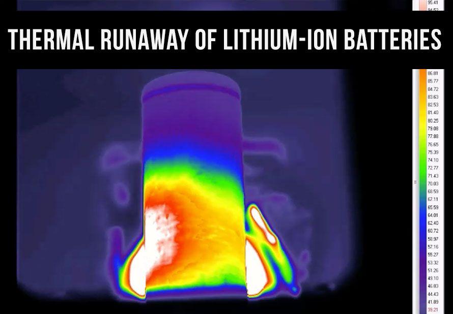 Thermal Runaway of Lithium-Ion Batteries