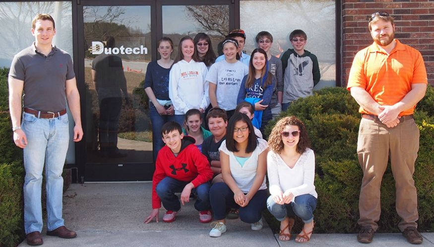 Gilliam's Hope Visits Duotech