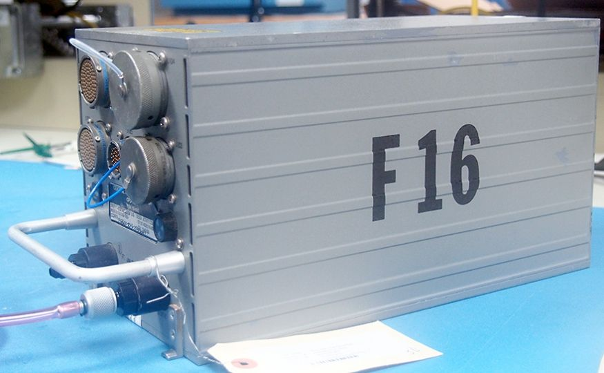 Repairing a F-16 Central Air Data Computer (CADC)