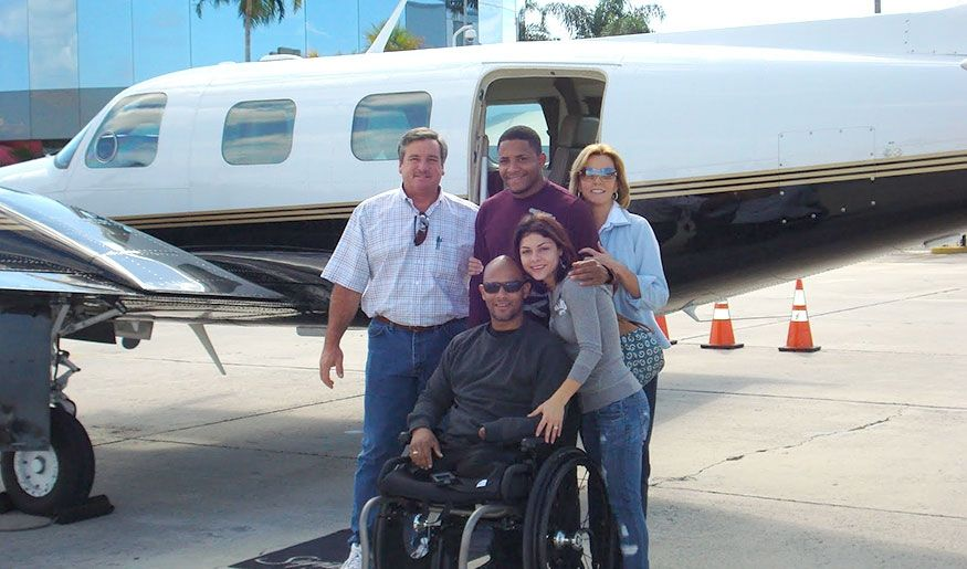 Duotech Supports Wounded Veterans Through the Veterans Airlift Command