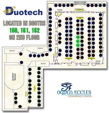 F-16 TCG Booths Duotech