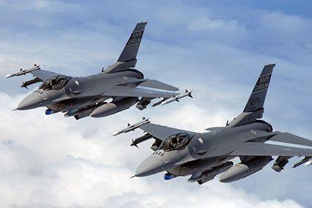 F-16 support capabilities