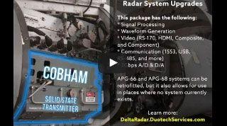 APG-66 APG-68 Radar Upgrades