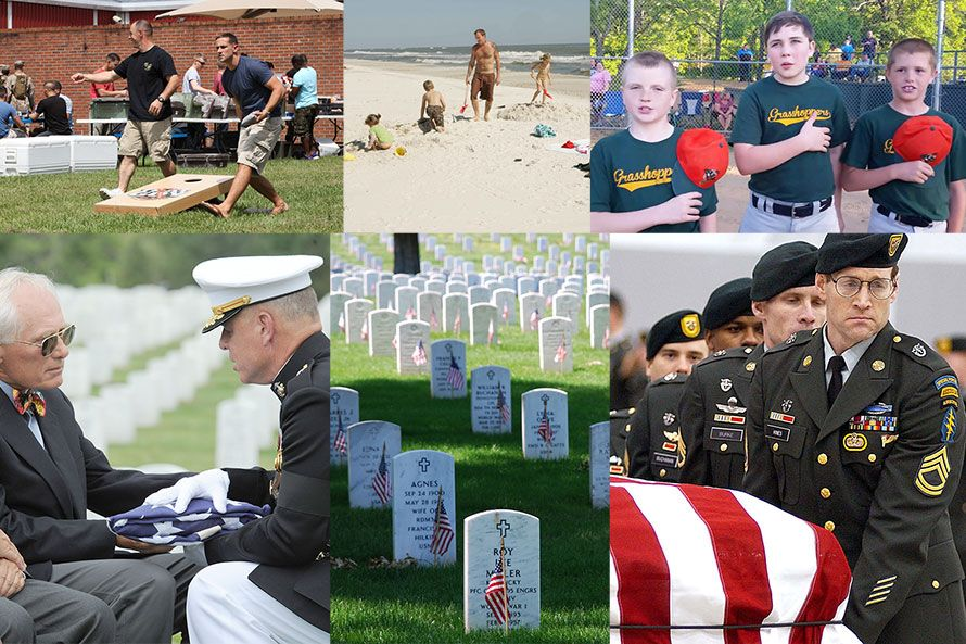 what memorial day means to me When i was a kid, memorial day meant something different to me it meant a 3- day weekend with possibly a picnic, fishing, grilling, or some.
