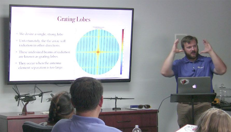 Leaky Waveguide Antenna Design Methodology – Lunch and Learn