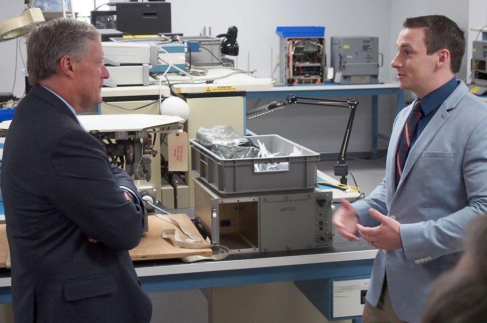 Congressman Meadows and Brett Rogers of Duotech