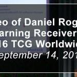 Radar Warning Receiver Briefing at the F-16 TCG WWR