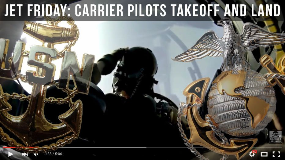 Jet Friday: Carrier Pilots Takeoff and Land