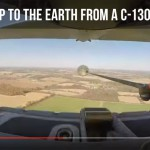 Quick Drop to the Earth From a C-130 Hercules