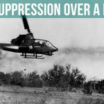 Fire Suppression Over A Hot LZ