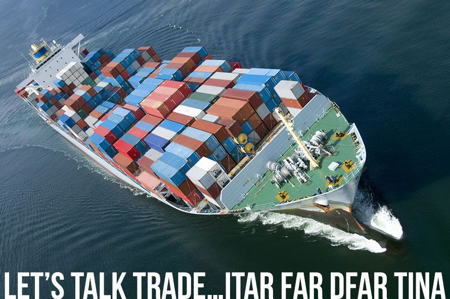 Let's Talk Trade…ITAR, FAR, DFAR, TINA