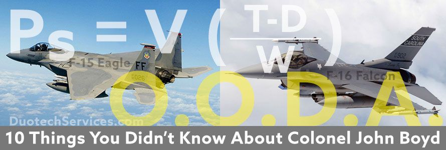 He Helped Plan Desert Storm, Saved the F-15, a Famous Fighter Pilot…But You've Never Heard of Him