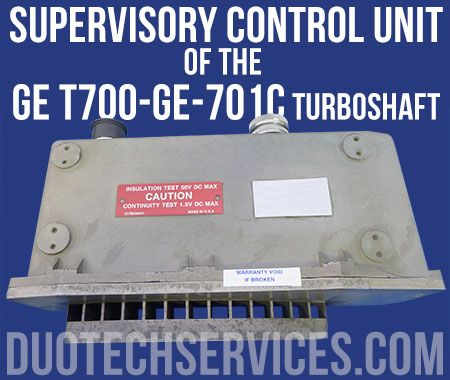 Supervisory Turbine Control Unit for the General Electric T700-GE-701C