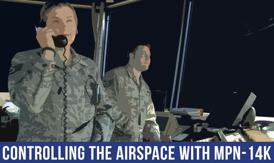 Controlling the Airspace with the AN/MPN-14 Landing Control Central Radar