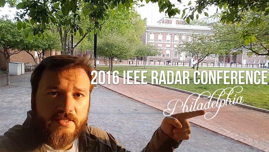2016 IEEE Radar Conference in Philadelphia