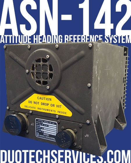 Ill. 3: ASN-142, Attitude Heading Reference System 406-077-804-109