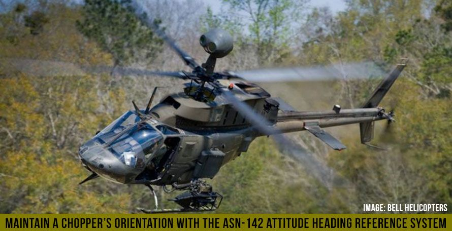 Maintain a Chopper's Orientation with the ASN-142 Attitude Heading Reference System