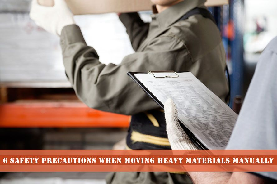 6 Safety Precautions When Moving Heavy Materials Manually
