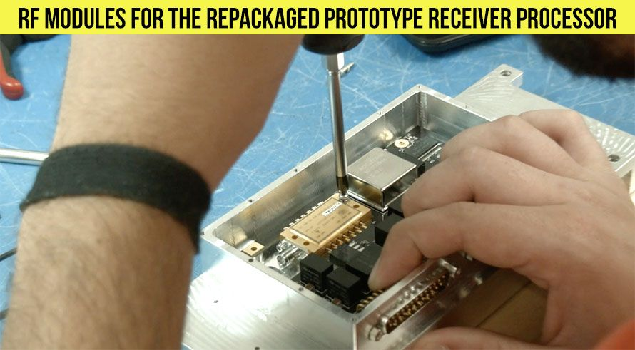 RF Modules for the Repackaged Prototype Receiver Processor