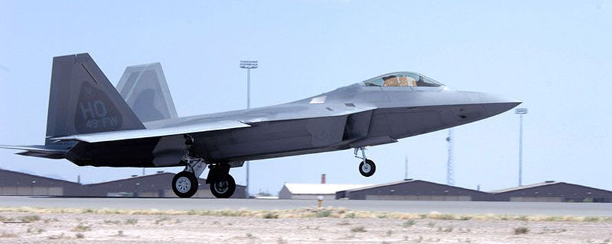 Jet Friday: F-22 Raptor Insane Take-off!