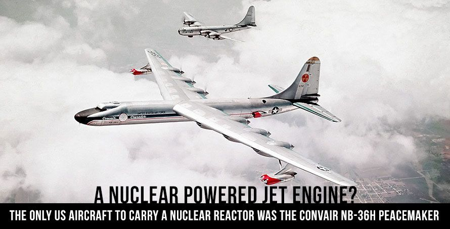 Jet Friday: The Hush-Hush Boys? A Nuclear Powered Jet Engine?