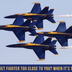 Jet Friday: When is a Jet Fighter Too Close to You? When It's This Close.