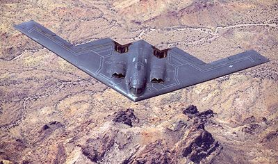 how stealth works b-2 stealth bomber