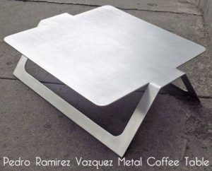 Image 1 - Pedro Ramirez Vazquez metal coffee table