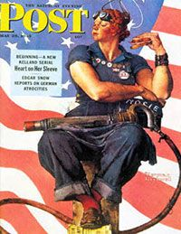 "Norman Rockwell's ""Rosie the Riveter"""