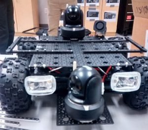 Sheriff's Department SWAT robot
