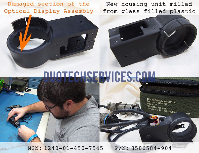 8506584-904 optical display assembly repair