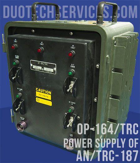 AN/TRC 187 OP-164/TRC P/N 901638-801 NSN 6130-01-344-4473