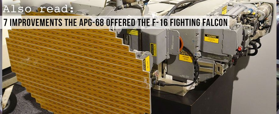 7 Improvements the APG-68 Offered the F-16 Fighting Falcon