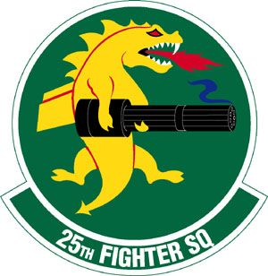 25th fighter squadron USAF