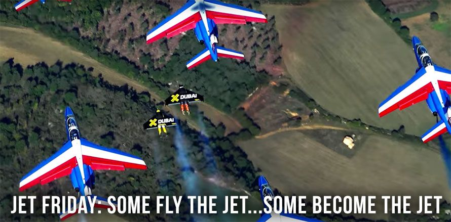 Jet Friday: Some Fly The Jet…Some Become The Jet
