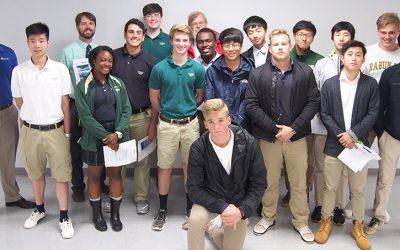 Rabun Gap Science Students Tour Duotech Services