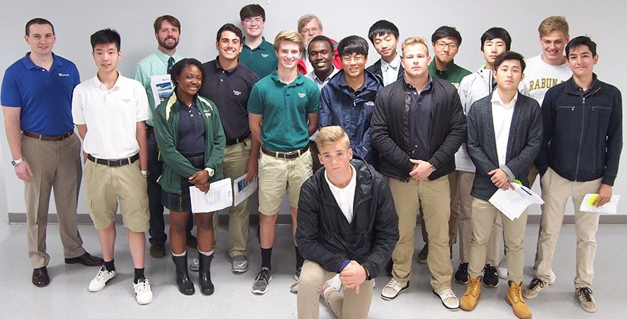 Rabun Gap Science Students Tour Duotech Services