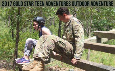 2017 Gold Star Teen Adventures Outdoor Adventure