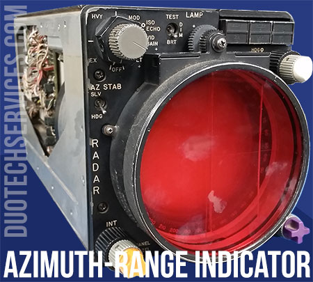 IP-988 PN 657303-1 azimuth range indicator