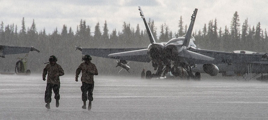 Stunning Combat Aircraft Photos from Alaska!