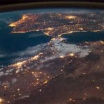 Spectacular Space Video Shows Compilation of Timelapse Photos from Africa to Europe