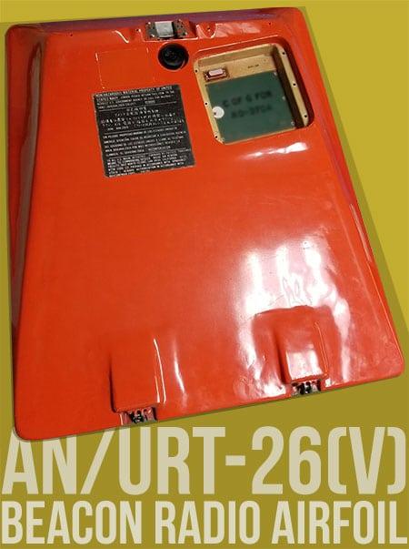 urt-26 beacon radio airfoil part number 138700-4