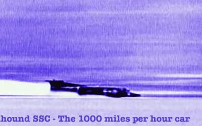 Jet Friday: A 1000 mph Car Developed To Break a Land Speed Record