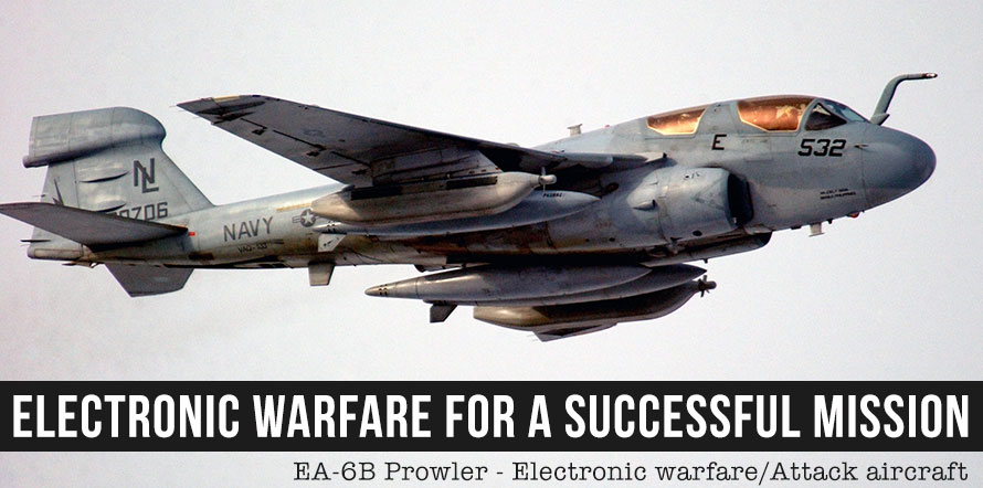 Electronic Warfare for A Successful Mission
