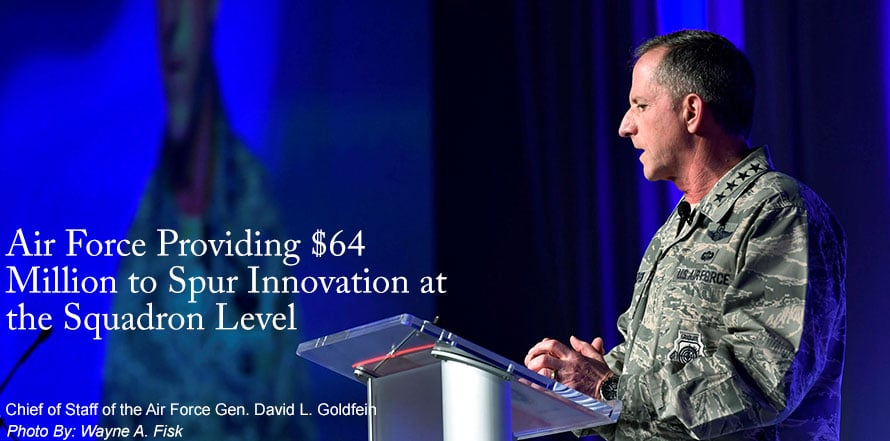 Air Force Providing $64 Million to Spur Innovation at the Squadron Level