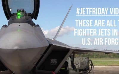 Jet Friday: All the Fighter Jets in the U.S. Air Force
