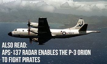 APS-137 Radar Enables the P-3 Orion to Fight Pirates